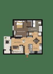 Floor Plan Vignette