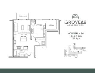 Floor Plan Hornell - A4