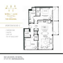 Floor Plan Penthouse C