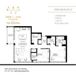 Floor Plan Penthouse D