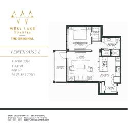 Floor Plan Penthouse E