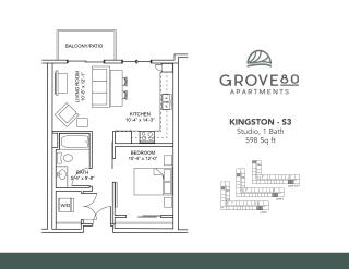 Floor Plan Kingston - S3