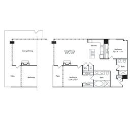 Floor Plan Irvine 1