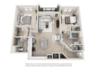 Floor Plan B3