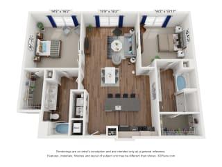Floor Plan B13