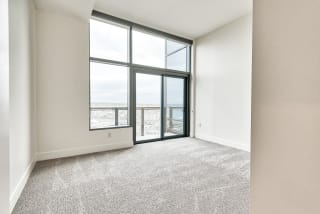 Penthouse balcony at Cirrus, 2030 8th Avenue, 98121