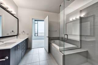 Penthouse bathroom at Cirrus, Washington, 98121