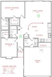 Floor Plan POPLAR Duplex