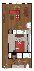 Ella Apartments A4.1 Floor Plan