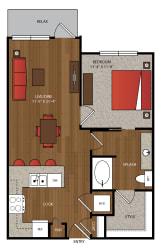 Ella Apartments A7.1 Floor Plan