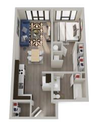 TheHixonApts_Bend_OR_1BR_A4_Floorplan