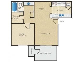 Mission Springs Apartments Patagonia Floor Plan