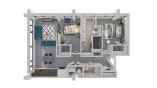 Mission Lofts Apartments Target 3D Live Floor Plan