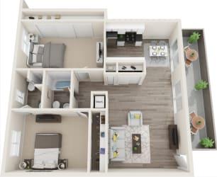 Hillside Gardens Apartments Floor Plan