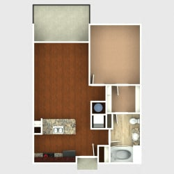 Floor Plan Flatirons