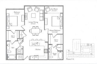 Floor Plan B5A