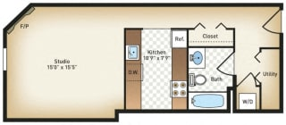 Floor Plan The Guilford