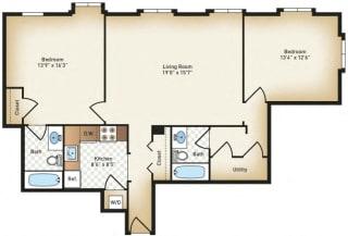 Floor Plan The Charles