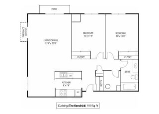 The Kendrick Apartments For Rent in St. Paul, MN 2 Bedroom 1 Bath