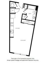 Floor Plan at Morningside Atlanta by Windsor, Atlanta