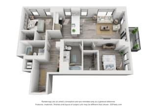 Floor Plan 2G