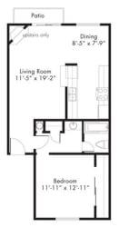 Floor Plan at Aviare Place, Midland