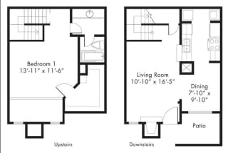 Floor Plan at Aviare Place, Midland, Texas