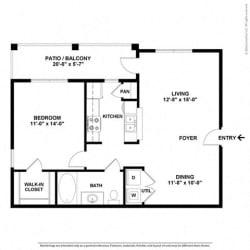 Floor Plan at Orion Prosper, Prosper