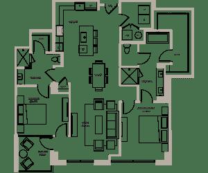 Floor Plan Cypress III