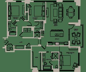 Floor Plan Dogwood III