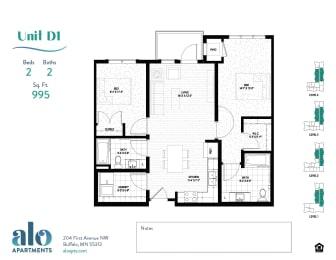 Floor Plan Abbie