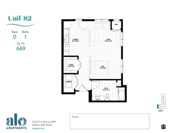 Floor Plan Tamarack (MR)