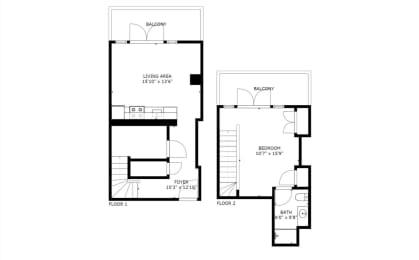Floor Plan A12D