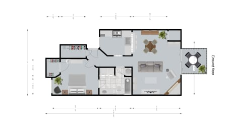 Kensington II Floor Plan