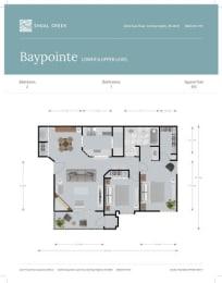 Floor Plan Baypointe