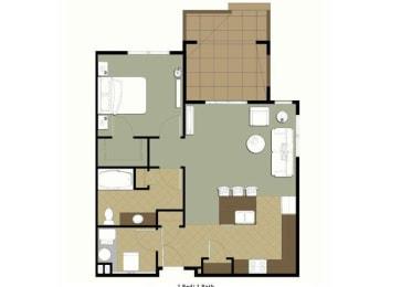 Astor floor plan