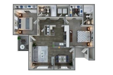 Floor Plan at Vista Grove, Mesa,Arizona