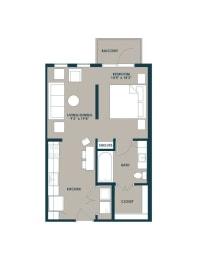 Floor Plan The Burnett