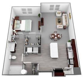 Legacy at Walton Heights A1_2 Floor Plan