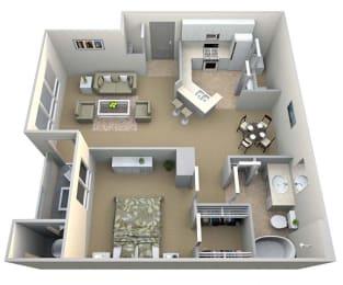 Abingdon floor plan at Walton Vinings, Smyrna