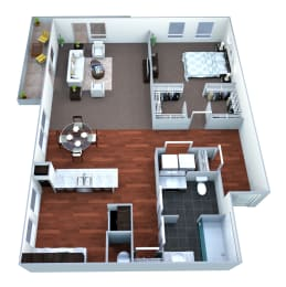 A3L Floor plan layout