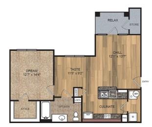 Floor Plan A2-HC