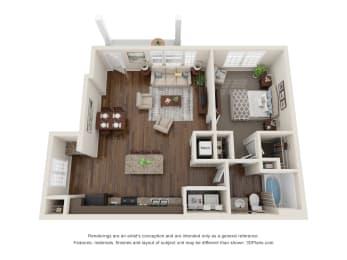 The Bensen Floor Plan