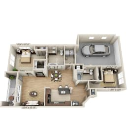 Floor Plan B2AG