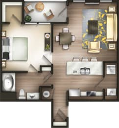 Floor Plan A1L