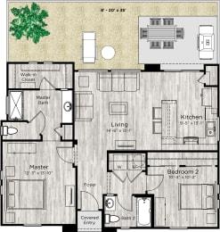The Retreat Floor Plan at Avilla Lago, Arizona, 85382