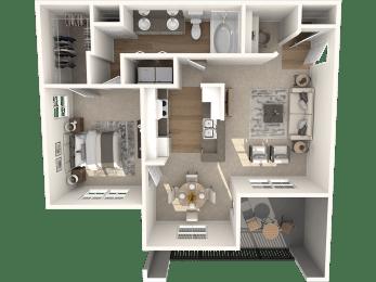 New Hope Classic Floor Plan | Lodge at Lakeline Village