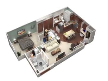 Brisa Floor Plan   Villas at San Dorado