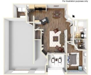 Abbey w/garage Floor Plan | Ballantrae