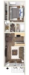 B Floor Plan | Hilands